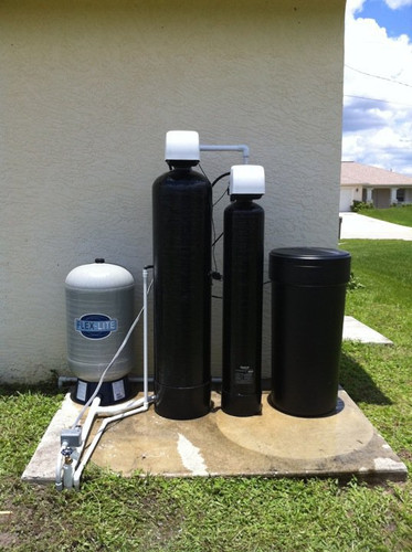 H2S Air-draw and Water Softener System