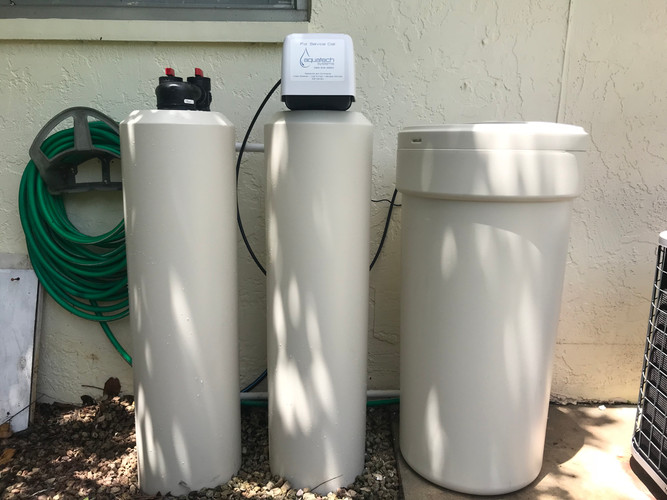 Carbon/Calcite and Water Softener System