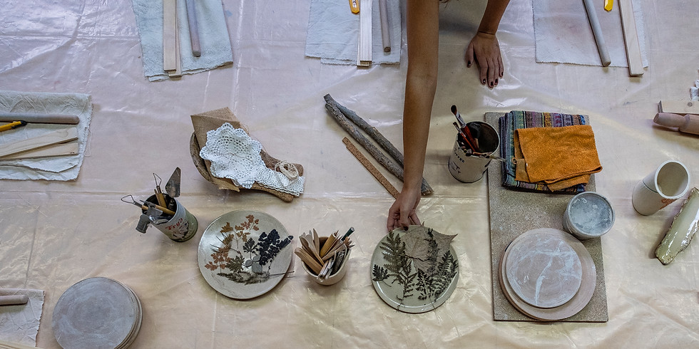 Aula de Cerâmica // Pós Laboral //  Exploração Livre // 75€