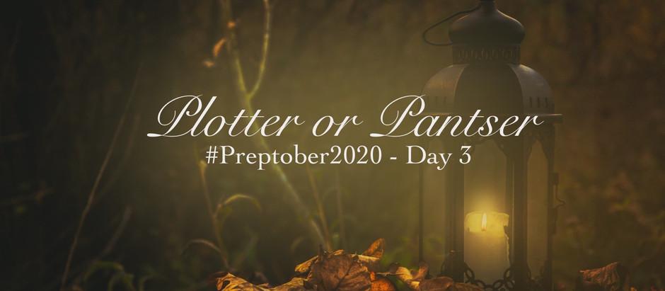 Plotter or Pantser: a Preptober Declaration