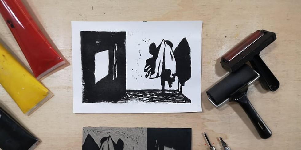 Workshop Gravura em Linóleo // 30€