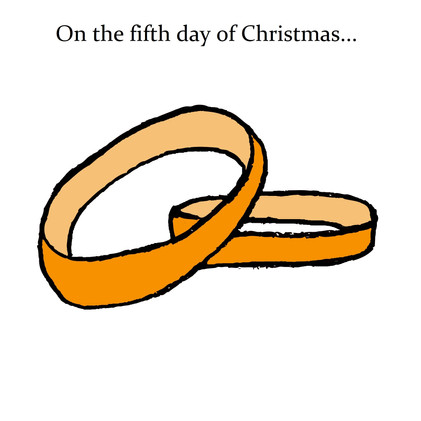 On the fifth day of Christmas...