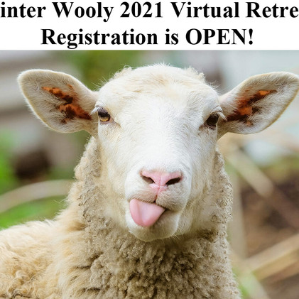 Winter Wooly Weekend goes Virtual!