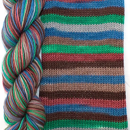 Elemental Earth skein and swatch.jpg