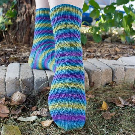 New sock pattern by Brenda...