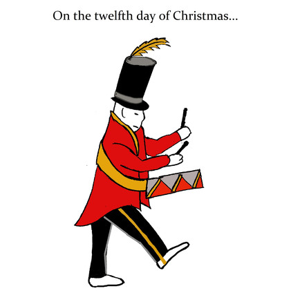 On the twelfth day of Christmas....
