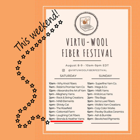3 Virtual Festivals this month...