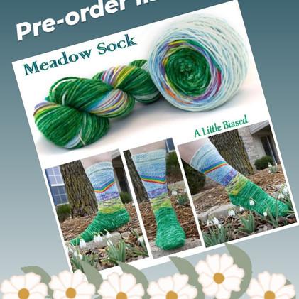 Meadow Sock Pre-order