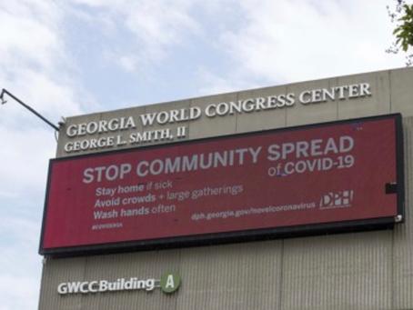 Temporary Hospital at Georgia World Congress Center