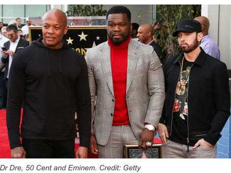50 Cent's Star on Hollywood Walk of Fame