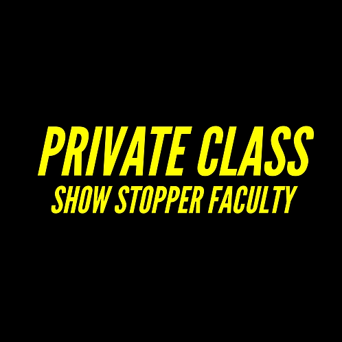 PRIVATE CLASS - 1 HOUR