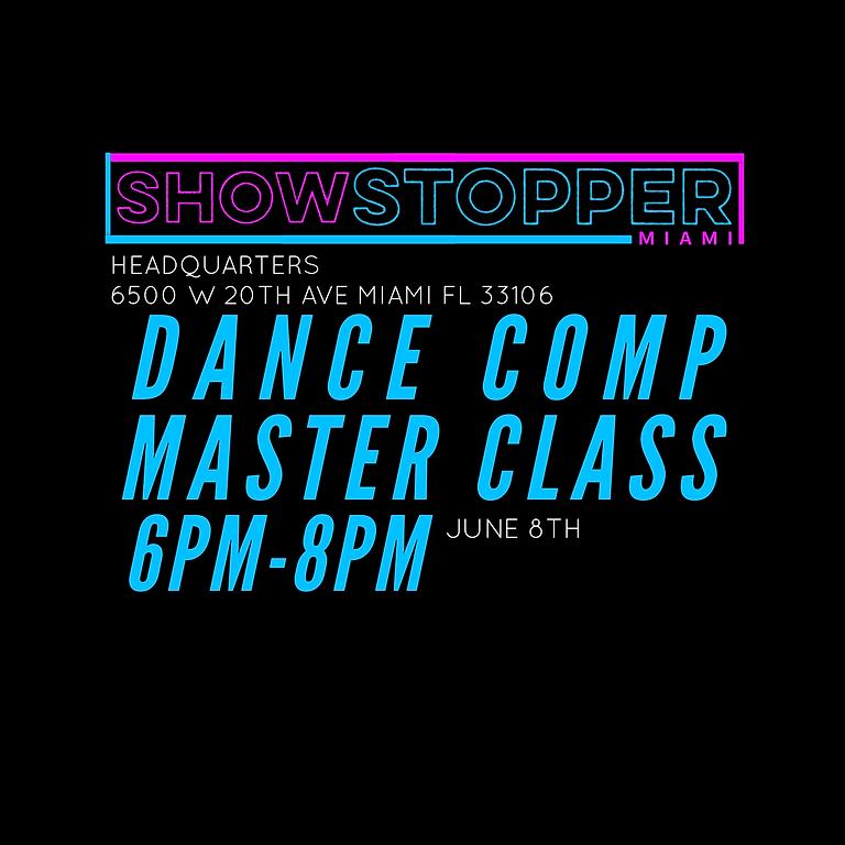 DANCE COMPOSITION MASTER CLASS
