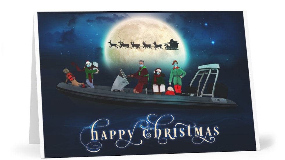 Christmas Greeting Cards (7 pcs)