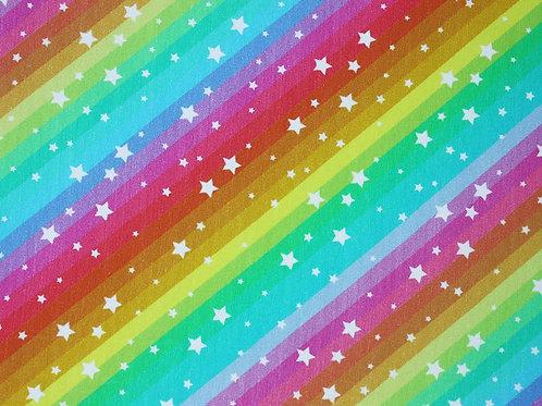 Little Johnny Rainbow Stars cotton jersey