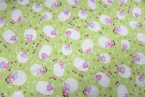 'The kids are alright' Sheep fabric