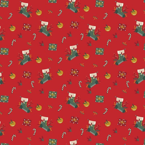 Christmas stockings by Poppy Europe. 100% cotton poplinOeko-tex