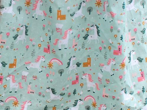 Happy Horse - Old Green 100 % Cotton Poplin by Poppy Europe. Oeko-tex certified
