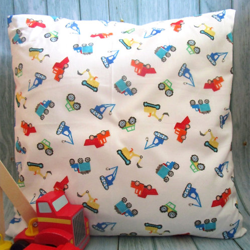 Diggers & Dumpers Cushion