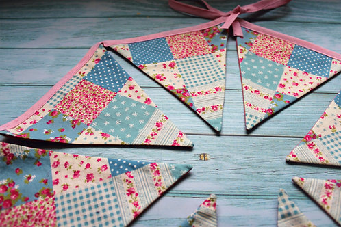 Patchwork bunting