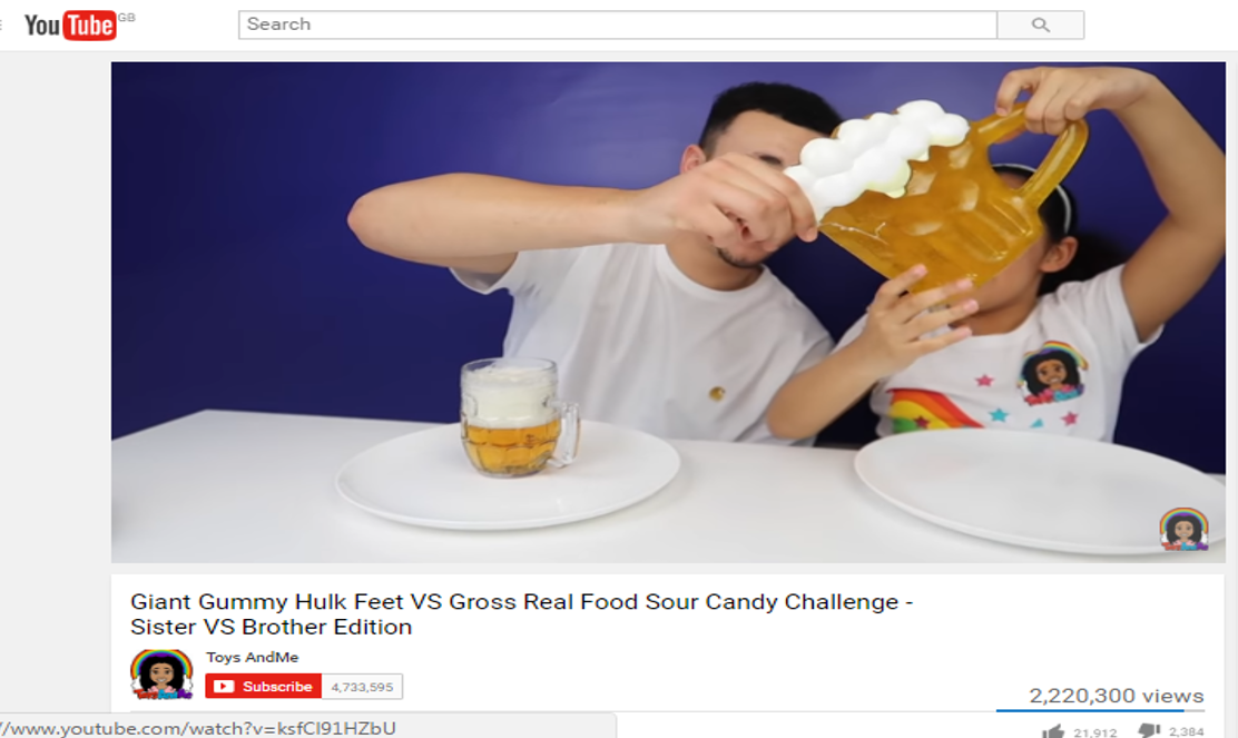 ToysAndMe - YouTube Gummy Beer