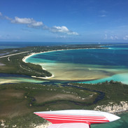 Departing Great Harbour Cay Bahamas
