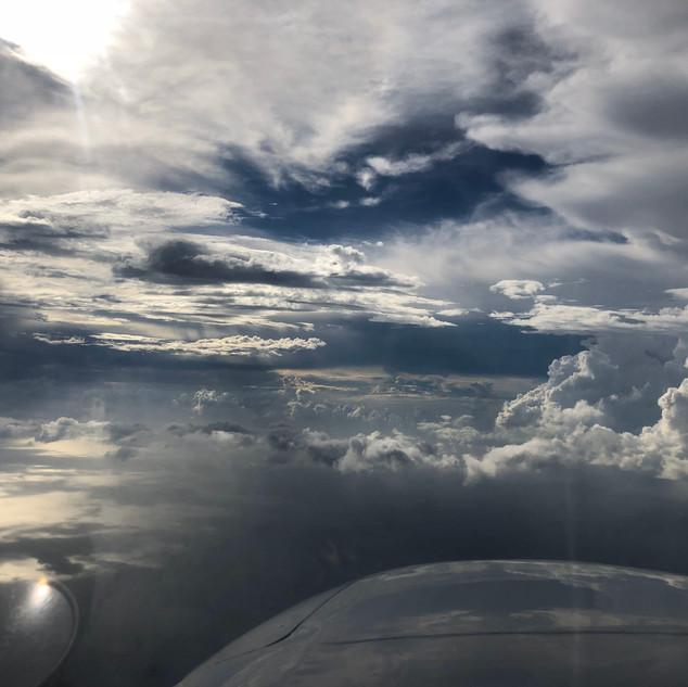 Breathtaking views flying in the Bahamas