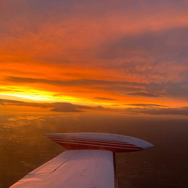 Florida Everglades Sunset