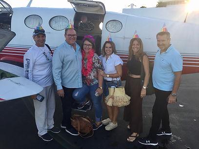 Miami City Flights happy passengers charter private flight