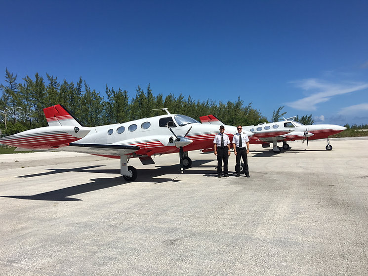Miami city flights C402 Bahamas