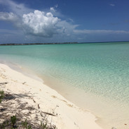 Beach of Great Harbour Cay, Bahamas