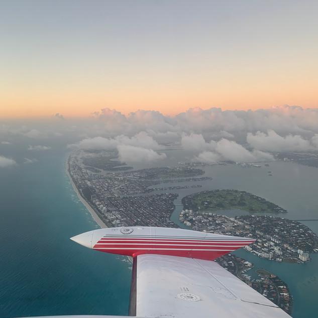 Miami Sunset Departure