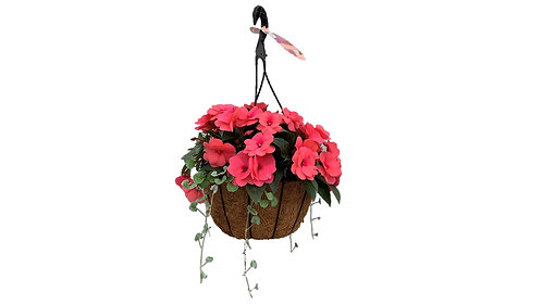 "12"" Coco Hanging Basket – NG"