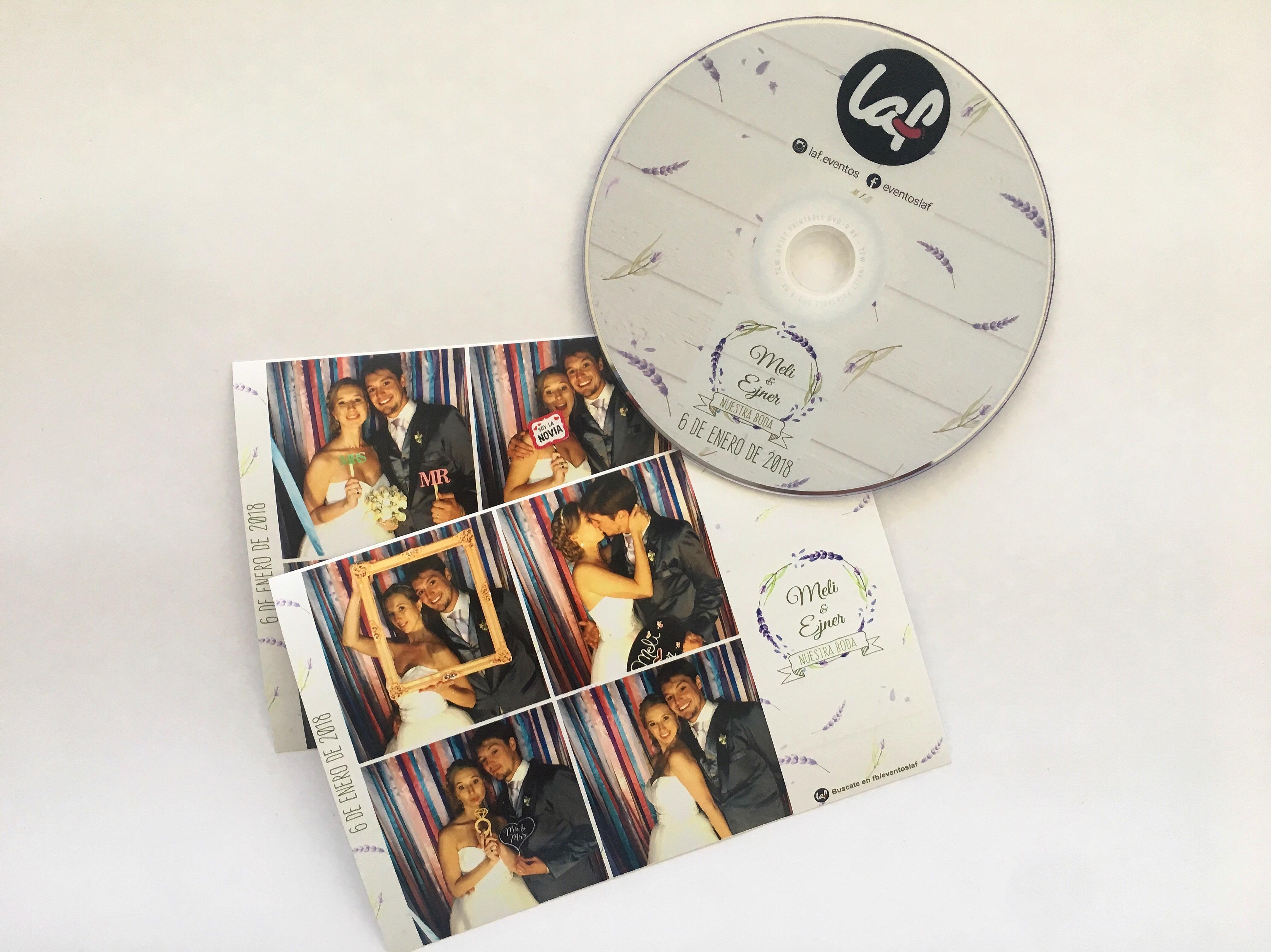 DVD DISEÑADO COMO TUS TIRAS