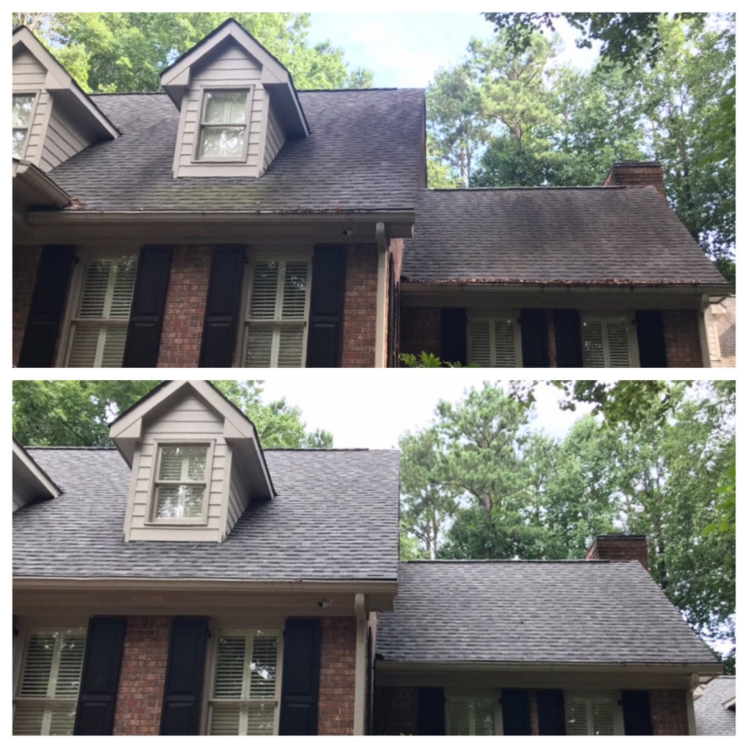 Roof Cleaning Smyrna, GA.
