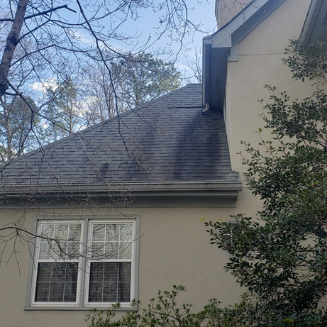 Roof Washing All Clear Cleaning before