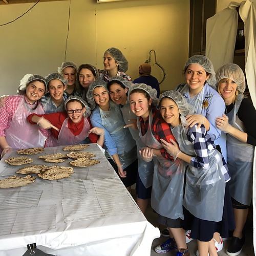 Matzah Baking