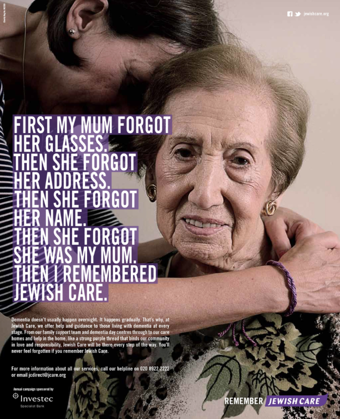 Jewish Care 'Remember' Part 1