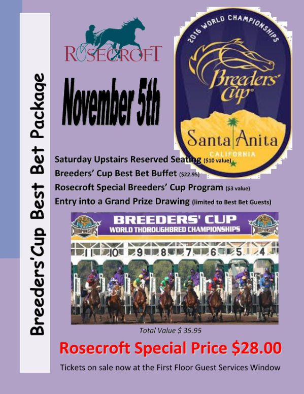 Breeders' Cup at Rosecroft