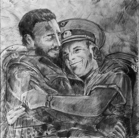 Дружба (Фидель Кастро и Юрий Гагарин)