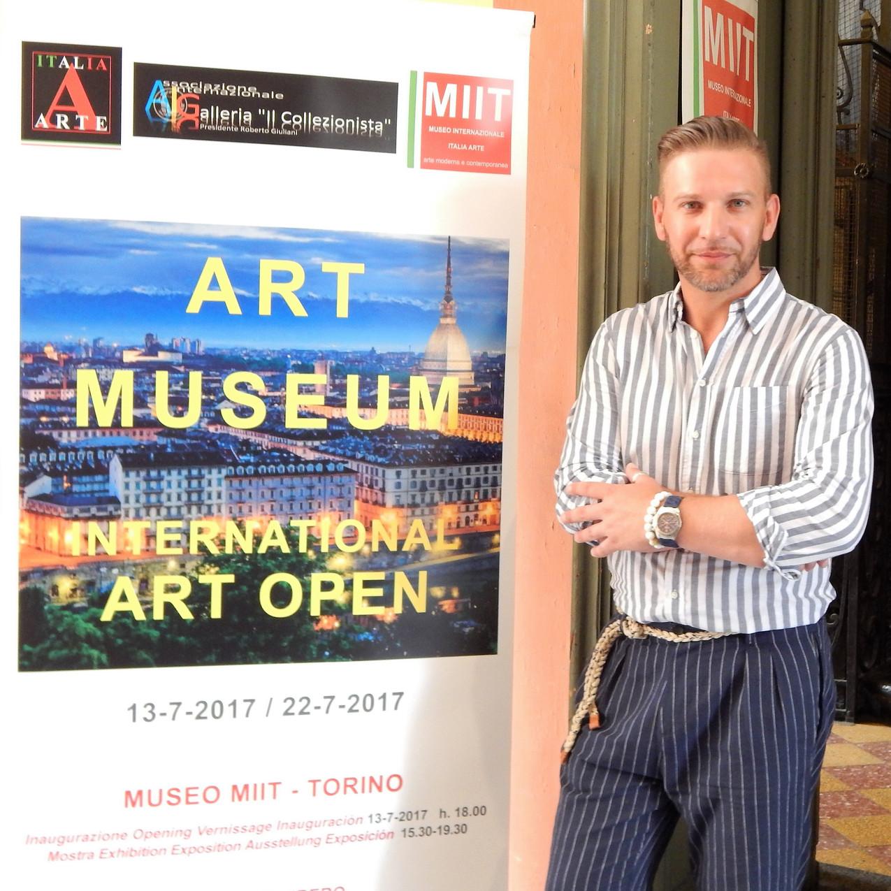 Art museum Torino