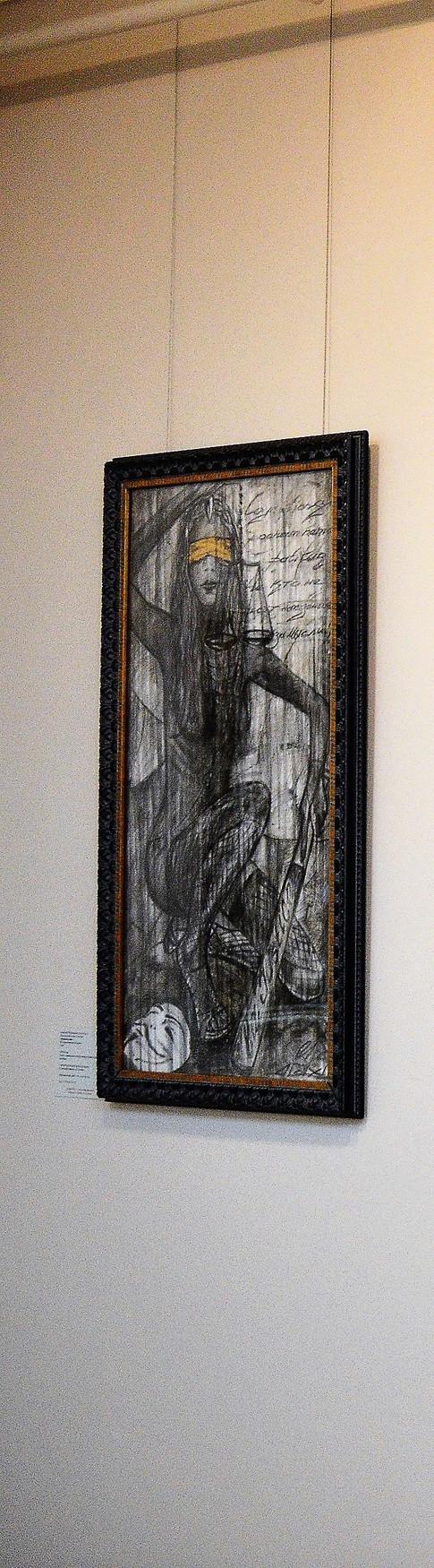 на выставке в государственной галерее