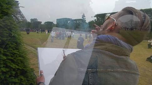 СигАрт - рисование зажженной сигарой