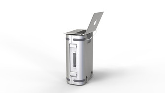 """The smart suitcase that won the title """"Suitcase 007"""""""