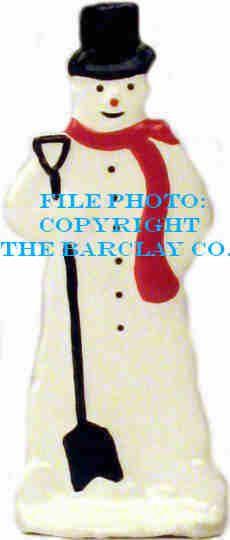 GF-066: Snowman w/ Shovel