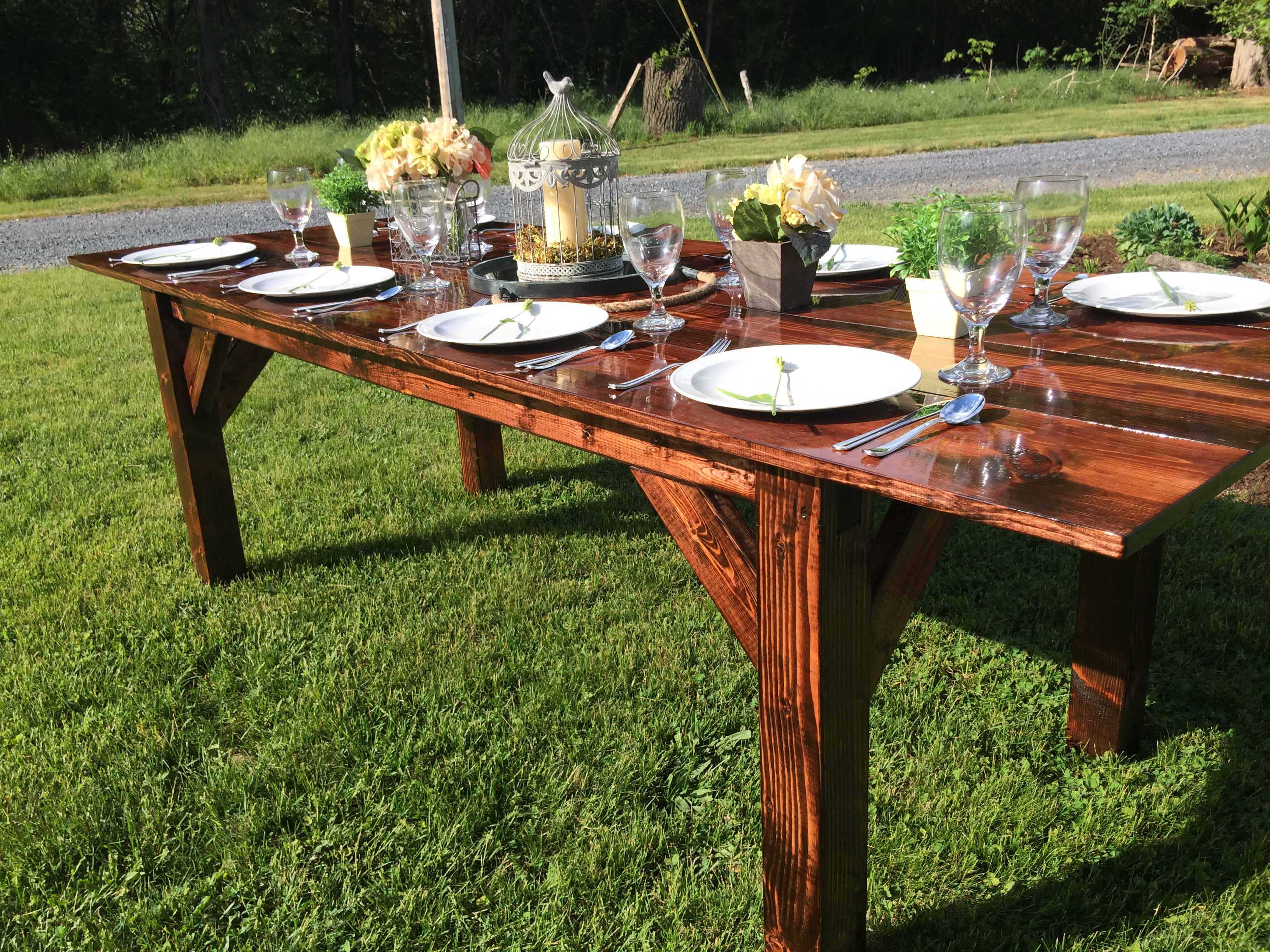 Farmhouse Tables for Rent PA