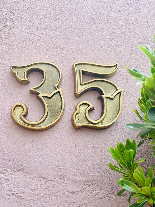 Apex House Numbers