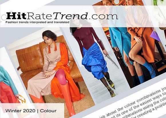 Womenswear Winter 2020 Colour