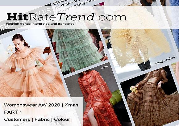 Womenswear Xmas 2020 Part 1 - Customer, Fabric & Colour.