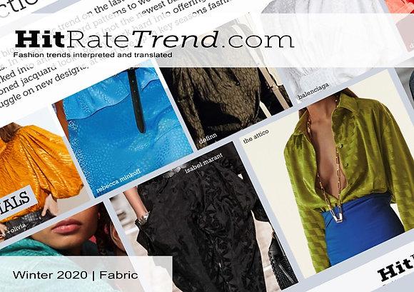 Womenswear Winter 2020 Fabric