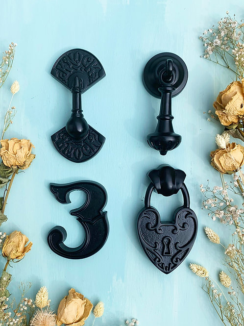 The Black Collection   Door Knocker